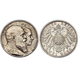 Germany - Empire Baden 2 Mark 1906