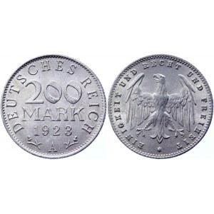 Germany - Weimar Republic 200 Mark 1923 A