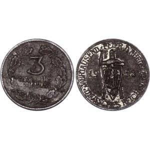 Germany - Weimar Republic Rhineland 3 Reichsmark 1925 A