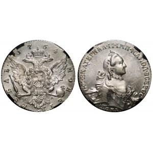 Russia 1 Rouble 1764 СПБ СА RNGA MS 61