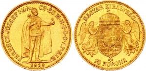 Hungary 10 Korona 1910 KB