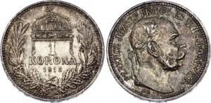 Hungary 1 Korona 1915 KB