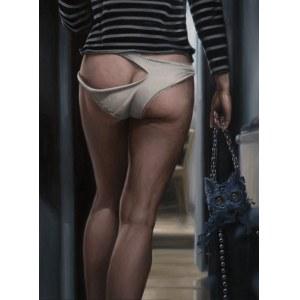 Łukasz Owczarek, WTF KZT (Kobieta z torebką) duze giclee
