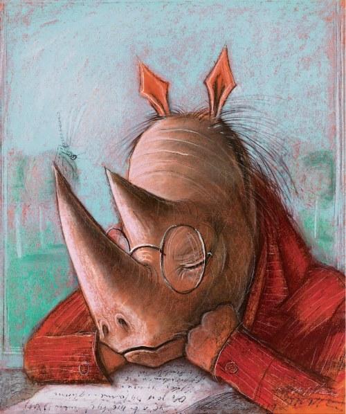 Józef Wilkoń, Blues Nosorożca M