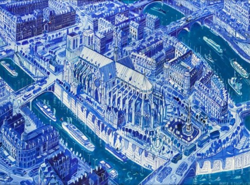 Edward Dwurnik, Paryż S