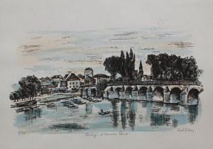 Michel Adlen, Poissy – L'ancien Pont