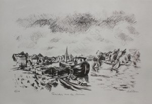 Michel Adlen, Peniches sur la Seine