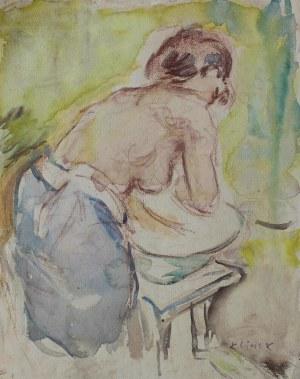 Ludwik Klimek, Toaleta