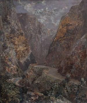 Konstanty Mackiewicz, Hiszpania. Burgas