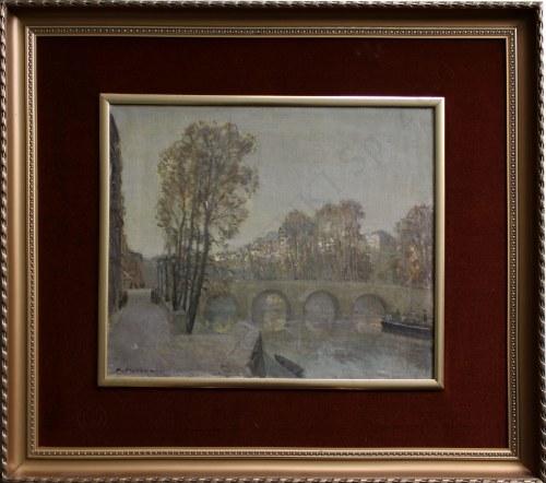Konstanty Mackiewicz, Paryski most