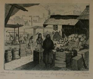Jerzy Miller, Warszawa-Bazar Różyckiego na Pradze
