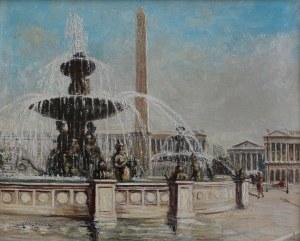 Gena Péchaubes, Plac Zgody w Paryżu