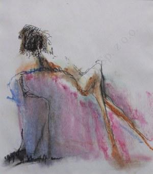 Alicja Wahl, Akt na fotelu