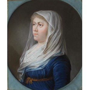 A.N., Portret kobiety w welonie