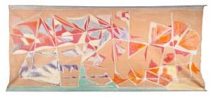 Projekt dekoracji tkaniny - Wojciech WADAS (ur. 1930)