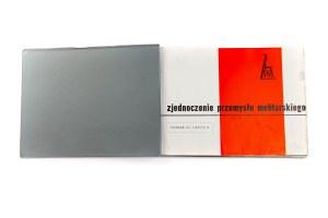 Dwa katalogi Zjednoczenia Przemysłu Meblowego w Poznaniu 1960 i 1961