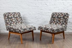 2 fotele z zestawu mebli 1050 - Bytomskie Fabryki Mebli Bytom
