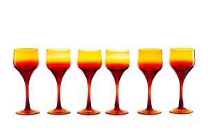 Zestaw 6 kieliszków do czerwonego wina