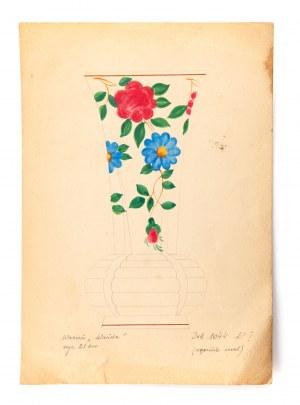Projekt dekoracji wazonu