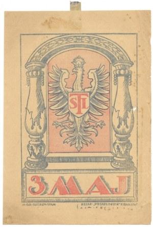 TSL 3 Maj. Kraków [1924]. Klisz.