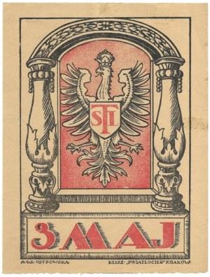 3 MAJ. Kraków [1924]. Klisz.