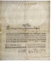 Szwecja, Transport Issue, 3 Riksdaler Specie 1789 RARE