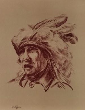 Bolesław CYBIS (1895-1957), Teka Folio One of American Indian Drawings, 1970