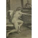Zofia ATTESLANDER (1874-1928), Akt kobiety przed lustrem, 1910