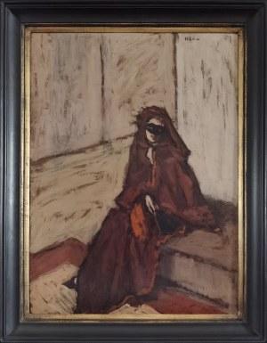 Bencion (BENN) RABINOWICZ (1905-1989), Czarna maska