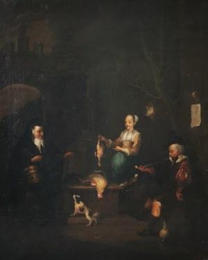 Malarz nieokreślony, zachodnioeuropejski, XIX, W kuchni