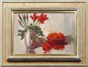 Jan Bohumil POSPIŠIL (1898-1968?), Martwa natura z kwiatami