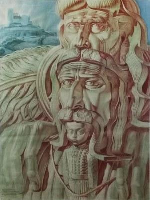 Stanisław SZUKALSKI (1893-1987), Dziedzic - projekt rzeźby