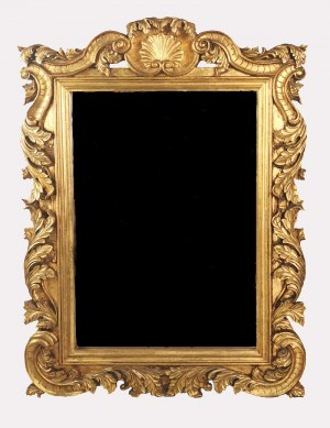 Lustro w manierze barokowej