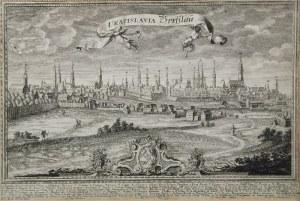 Friedrich Bernhard WERNER (1690-1776) - według, Jan Jerzy PINZ, Widok Wrocławia