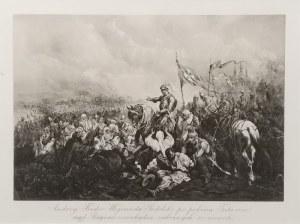 Juliusz KOSSAK (1824-1899) - według, Andrzej Fredro Wojewoda Podolski po pobiciu Tatarów nad Bugiem oswobadza zabranych w niewolę