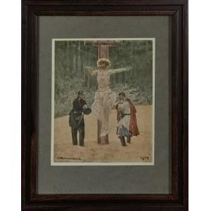 Jacek MALCZEWSKI (1854-1929) - według, U krzyża
