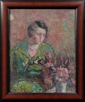 Leonard PĘKALSKI ( 1896-1944), Studium portretowe - Pani Wanda P., ok.1933