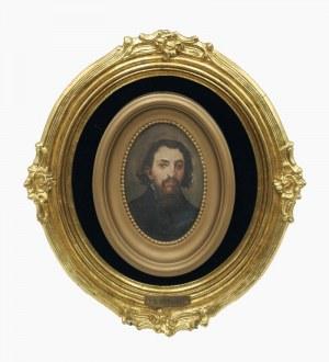 Stanisław DĘBICKI (1866-1924)?, Portret mężczyzny