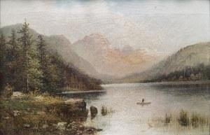 W. Franz, XIX w., Pejzaż górski