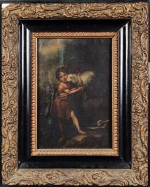 Artysta nieokreślony, XIX w. [wg wcześniejszego wzoru], Św. Jan Chrzciciel