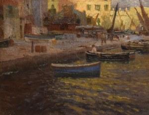 Carl O'lynch von TOWN (1869-1947), Marina w Portovenere