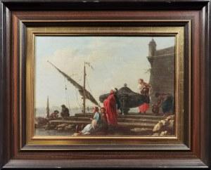 Artysta nieokreślony, XVIII w., W oczekiwaniu na powrót