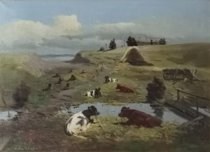 V. Bit Khalm, Krowy na wspaniałym pastwisku