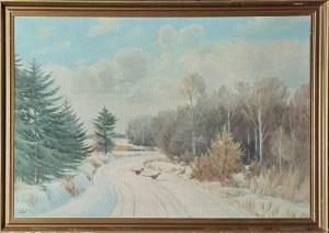 Artysta nieokreślony, Bażanty w zimowym pejzażu