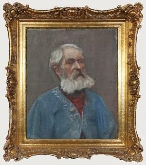 Marian CZYŻEWSKI, Portret mężczyzny w brodą, 1911