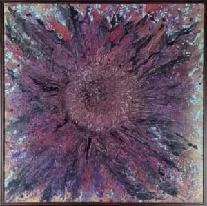 Izabela DRZEWIECKA (ur. 1966), Magiczny kwiat szczęścia, 2020