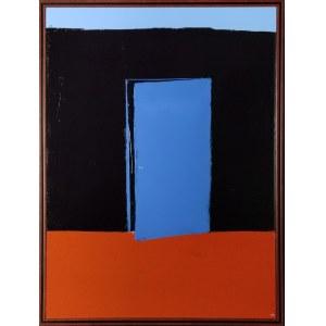 Andrzej CYBURA (ur. 1976), Uchylone drzwi, 2020