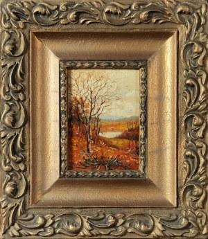 Edward WARTE?, Pejzaż jesienny