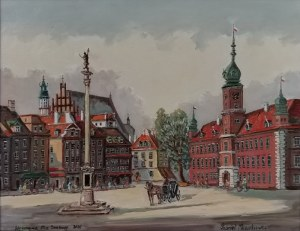 Gabriel MAZURKIEWICZ, Warszawa - Plac Zamkowy, 2020
