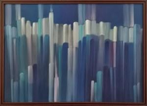 Anna WALERYŚ, Przejścia-Abstrakcja blue, 2020